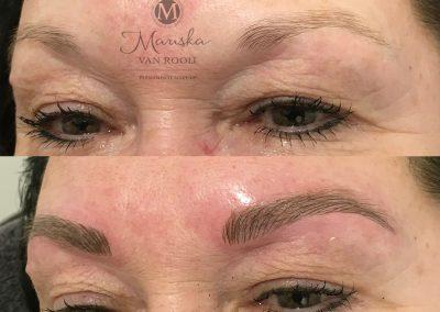 Microblading subtiel Mariska van Rooij permanente make-up