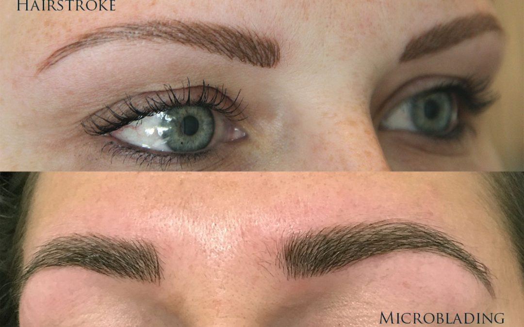 Microblading VS Hairstroke - Mariska van Rooij